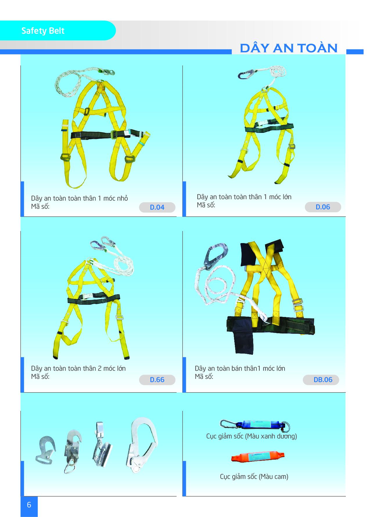 Dây đeo an toàn, dây leo cao